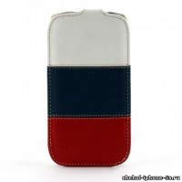 Кожаный чехол Melkco для iPhone 5s / SE / 5 Craft Edition Nations/Russia (Jacka Type)
